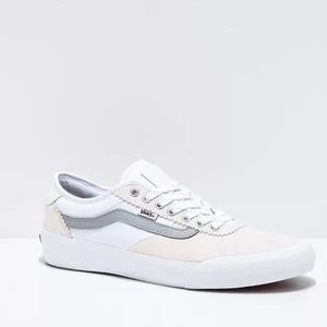 NEW Vans Chima Pro 2 Reflective White Sneakers